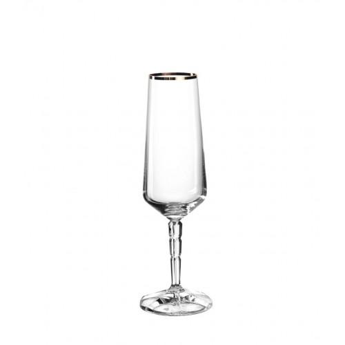 Kozarec za šampanjec »SPIRITII GOLD« z zlatim robom