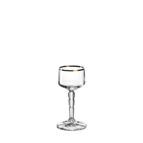 Kozarec za žganje/ liker »SPIRITII«z zlatim robom