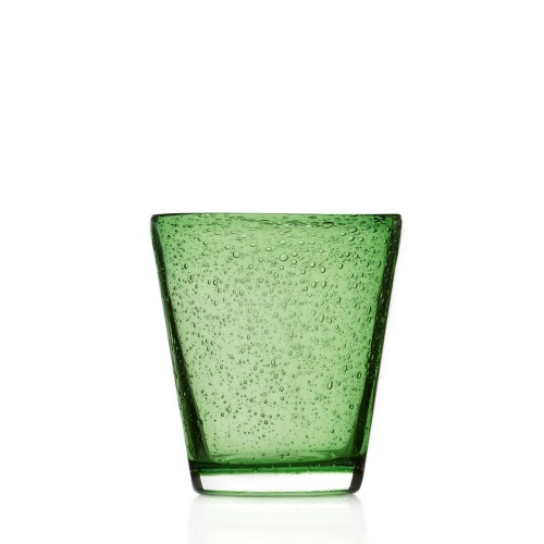 Kozarec za vodo/ sok »BURANO« 330ml zelen