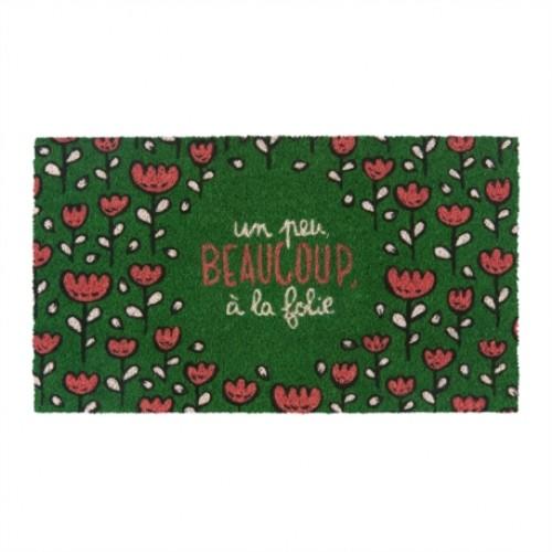 Predpražnik COCO/PVC »Rdeče rože na travi«