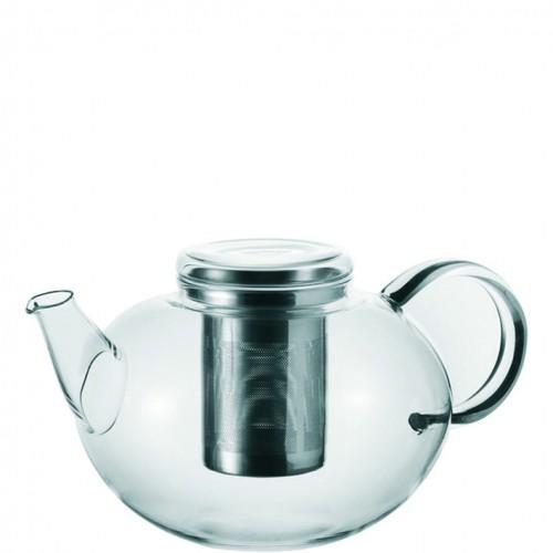 Steklen čajnik eleganten