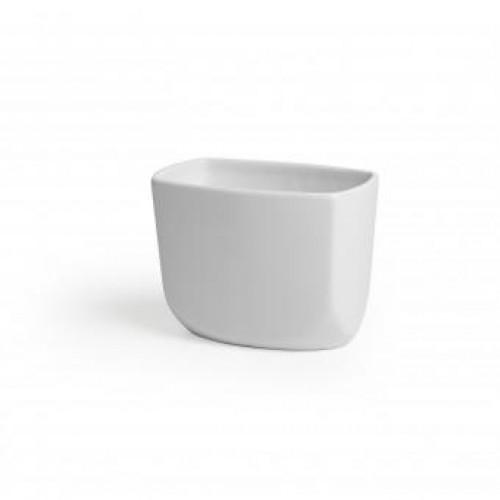 Lonček za zobne krtačke »CORSA« bel