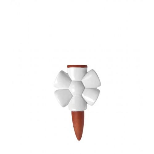 Kapljalnik, razpršilnik vode za rože »SERRA« v beli barvi