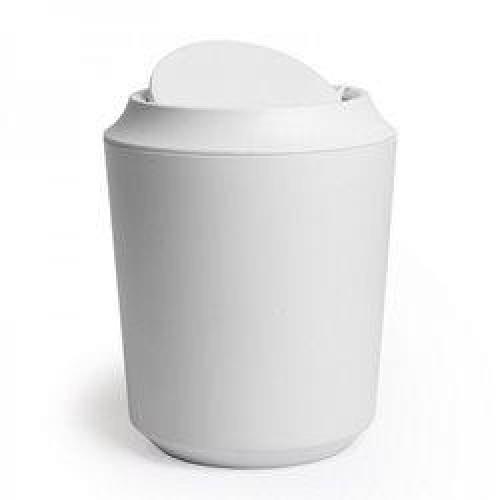 Koš za smeti s pokrovom »CORSA« s premičnim pokrovom