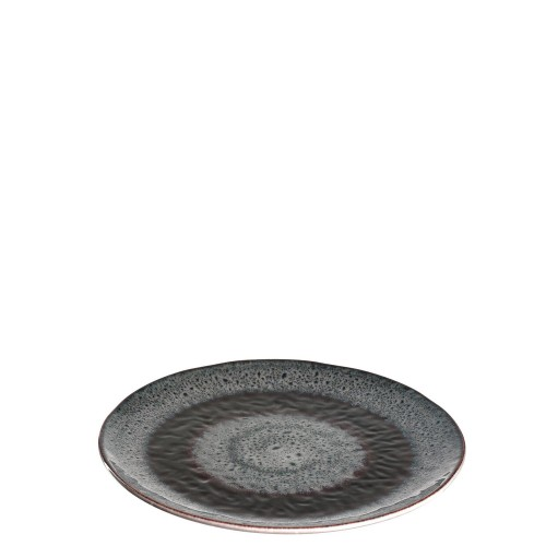 Keramični krožnik »MATERA« 22,5 cm (siv)
