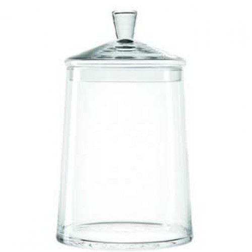 Steklena doza s pokrovom »TOP« 38 cm