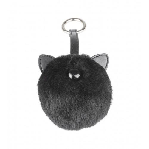 Obesek za ključe »MUCA« črn