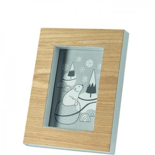 Okvir za sliko »WOOD« 10 x 15 cm lesen