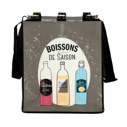 Torba za steklenice »BORDEAUX« uporabna
