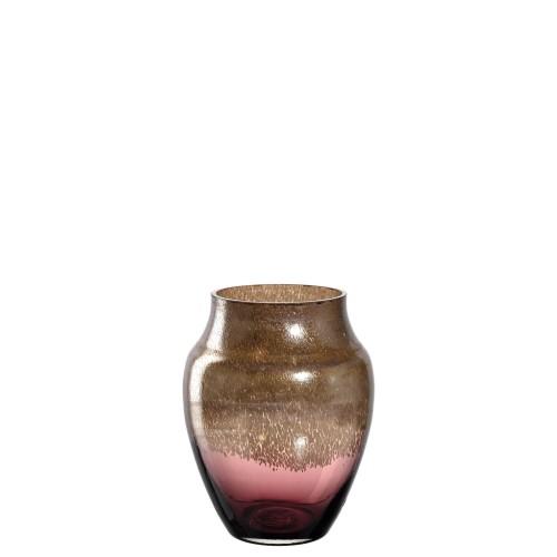 """Vaza """"POESIA"""" bordo/zlata 23 cm"""