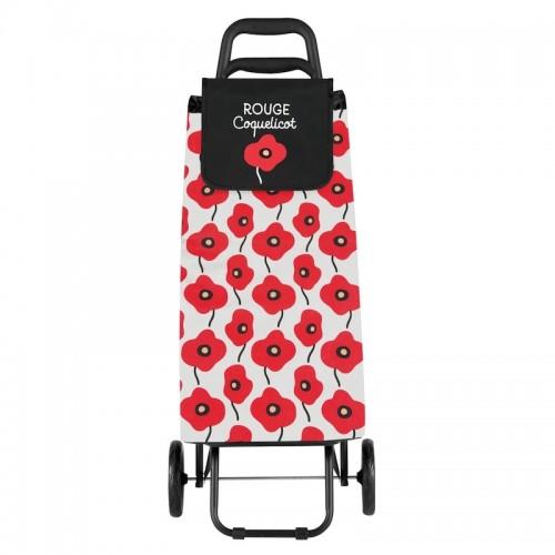 Nakupovalni voziček POLY »Poppy« z maki