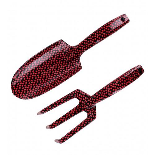 Pribor za vrtnarjenje »CHERRY« v rdeči barvi češenj