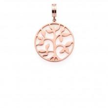 Obesek za ogrlico »CAMMINO« rose gold