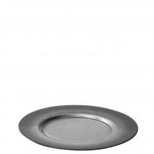 Krožnik sivo srebrn 33 cm
