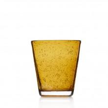 Kozarec za vodo/ sok »BURANO« 330ml jantar