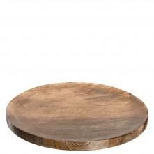 Krožnik 40 cm mango »WOOD«