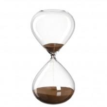Peščena ura 30 cm »POSTO« (rjava)