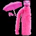 Zložljiv dežnik »CHAPKA« roza
