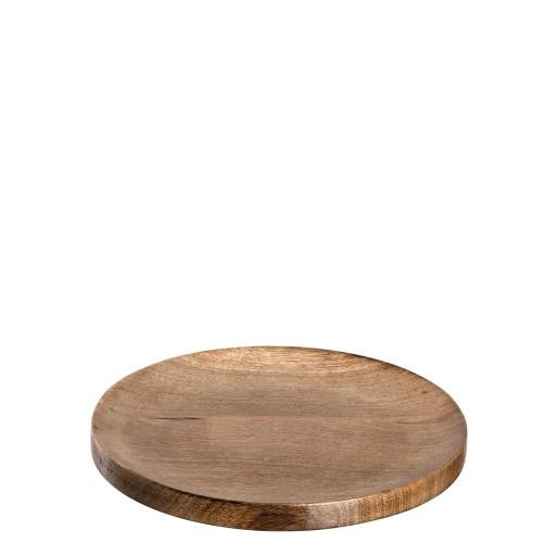 Krožnik 30 cm mango »WOOD«