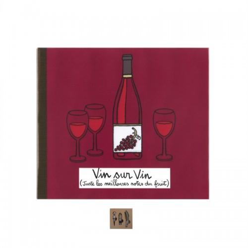 Set za vino »KNJIGA«