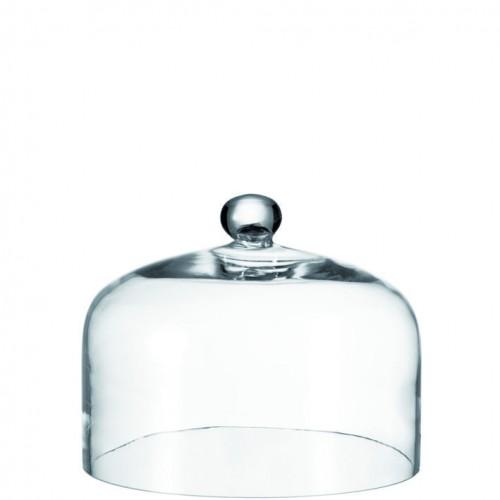 Steklen pokrov za hrano transparent