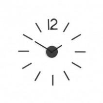 Stenska ura »BLINK« črna