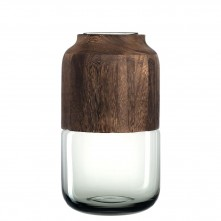 Vaza »Colletto« siva 32 cm