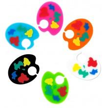 Označevalci kozarcev »PALETA« barvasti kot slikarske barve