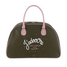 Večnamenska torba »MIKA«- zeleno roza