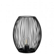 Svetilka LED 24 cm črna