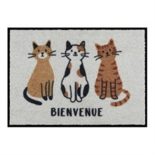 Predpražnik LEMIYO »Dobrodošli« mačke